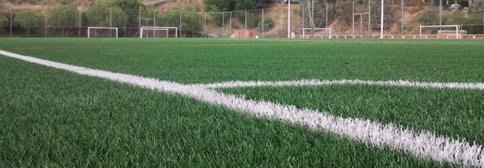 Nova gespa al camp de futbol